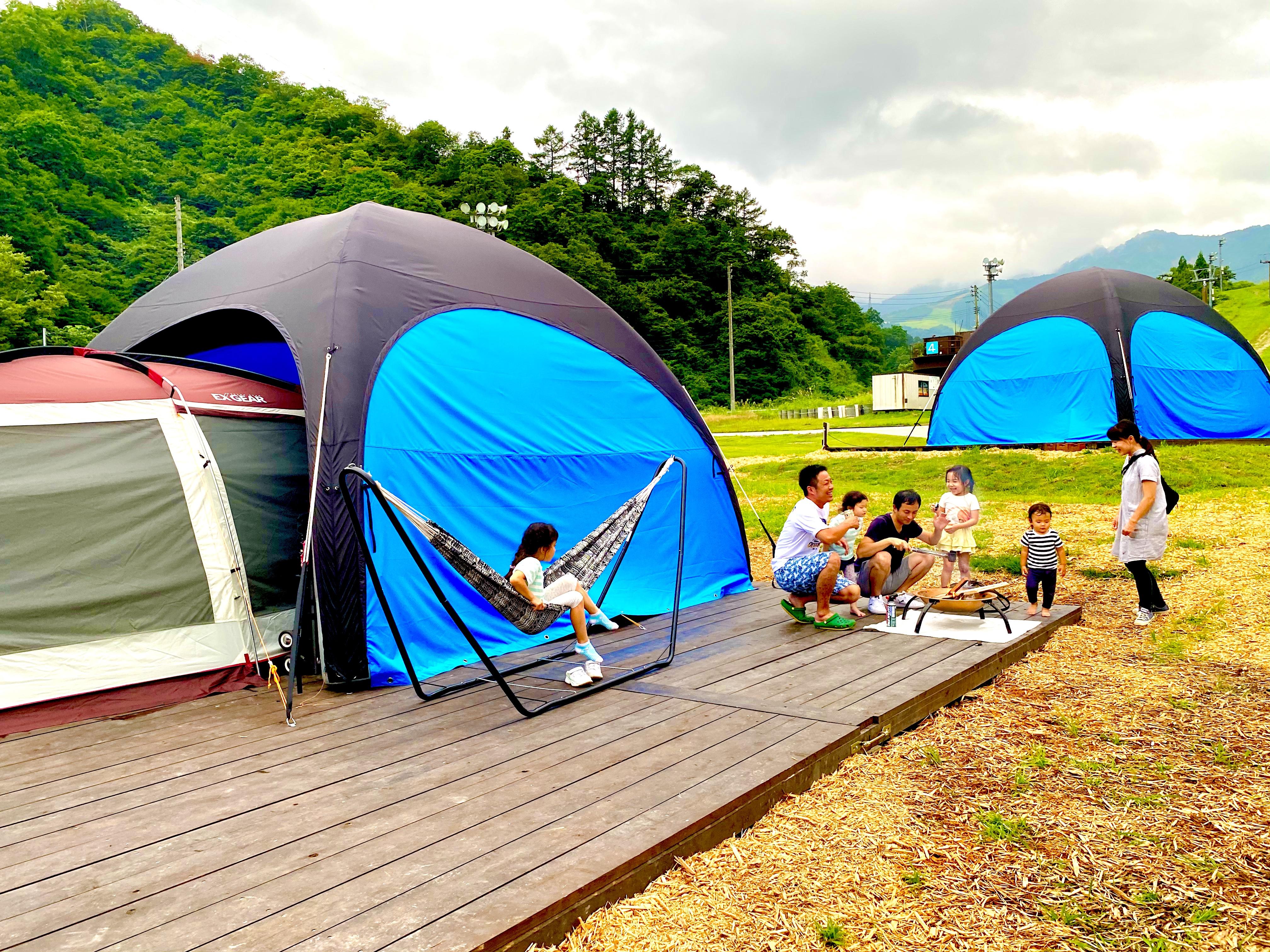 NASPA CAMP GARDEN キャンプサイト